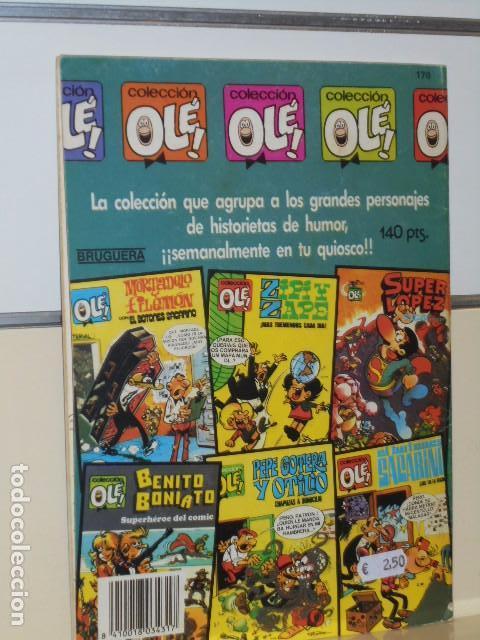 Tebeos: COLECCION OLE Nº 170 MORTADELO Y FILEMON EL BOTONES SACARINO Y SIR TIM O'THEO - BRUGUERA - Foto 2 - 100040615
