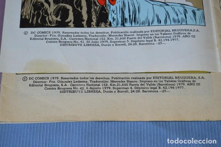 Tebeos: Lote 2 comic - SUPERMAN - Comics BRUGUERA - Finales años 70 - Núm: 3 y 4 - ¡Mira! - Foto 2 - 100071099