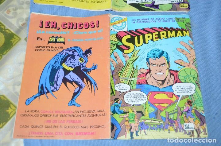 Tebeos: Lote 2 comic - SUPERMAN - Comics BRUGUERA - Finales años 70 - Núm: 3 y 4 - ¡Mira! - Foto 5 - 100071099
