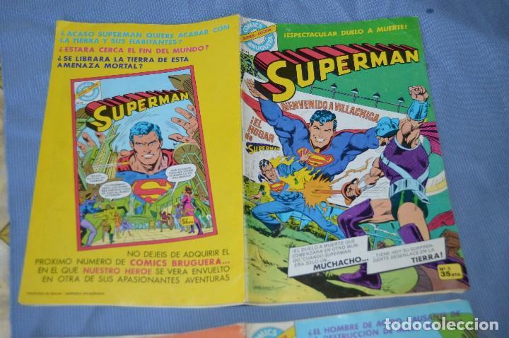 Tebeos: Lote 2 comic - SUPERMAN - Comics BRUGUERA - Finales años 70 - Núm: 3 y 4 - ¡Mira! - Foto 6 - 100071099