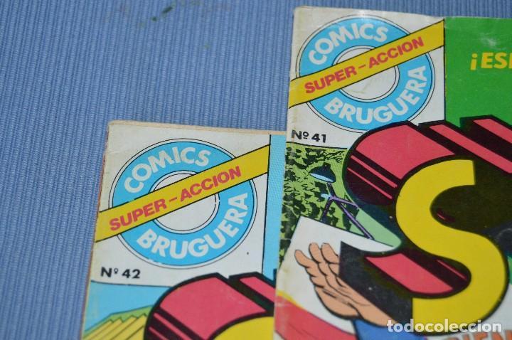 Tebeos: Lote 2 comic - SUPERMAN - Comics BRUGUERA - Finales años 70 - Núm: 3 y 4 - ¡Mira! - Foto 7 - 100071099