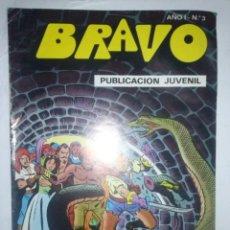 Tebeos: BRAVO-Nº 3-EL CACHORRO-Nº 2-1976-´¡FUGA ACCIDENTADA`- ¡¡TREPIDANTE!!-TODO UN CLÁSICO-7131. Lote 100241755