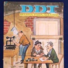 Tebeos: DDT REVISTA PARA ADULTOS, NÚM.703, AÑO XIV. 2 DE NOVIEMBRE 1964. EDITORIAL BRUGUERA, S.A. CÓMIC.. Lote 100244271