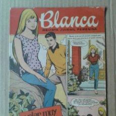 Tebeos: BLANCA, REVISTA JUVENIL FEMENINA N°91. EDITORIAL BRUGUERA, 1962.. Lote 100312395