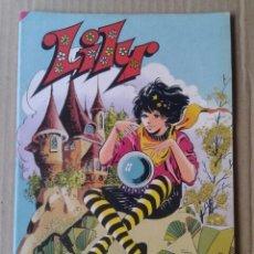 Tebeos: LILY EXTRA DE PRIMAVERA. EDITORIAL BRUGUERA, 1982. INCLUYE PÓSTER DE REGALIZ.. Lote 100312754