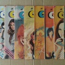 Tebeos: LOTE GINA, REVISTA JUVENIL FEMENINA NÚMEROS 5-8-11-23. BRUGUERA, 1978.. Lote 100312936