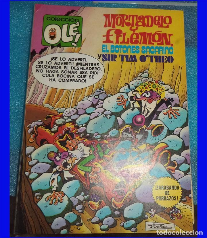 MORTADELO Y FILEMON BRUGUERA COL. OLE 170 CON SACARINO SIR TIM O´THEO (Tebeos y Comics - Bruguera - Ole)