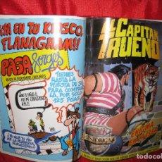 Tebeos: CAPITAN TRUENO-TOMO EDICION HISTORICA 1987 CON 15 TEBEOS DEL 31 AL 45 . Lote 100345111