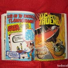 Tebeos: CAPITAN TRUENO-TOMO EDICION HISTORICA 1987 CON 15 TEBEOS DEL 46 AL 59 . Lote 100345139
