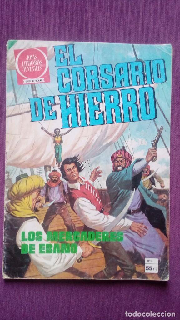 EL CORSARIO DE HIERRO 3 BRUGUERA C7A (Tebeos y Comics - Bruguera - Corsario de Hierro)