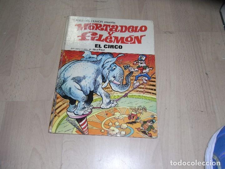 MORTADELO Y FILEMON, EL CIRCO, Nº 27, BRUGUERA. 1973 (Tebeos y Comics - Bruguera - Mortadelo)