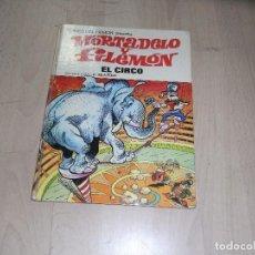 Tebeos: MORTADELO Y FILEMON, EL CIRCO, Nº 27, BRUGUERA. 1973. Lote 100389651