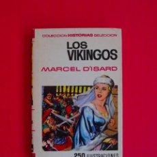 BDs: LOS VIKINGOS - HISTORIAS SELECCIÓN - SERIE HISTORIA Y BIOGRAFÍA Nº 20 BRUGUERA 1ª ED. 1967. Lote 100394155