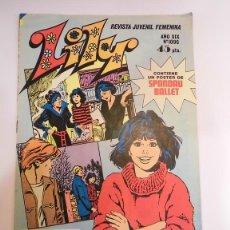 Tebeos: LILY - NUM 1096 - ED. BRUGUERA- 1982. Lote 100485964