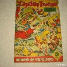 Tebeos: EL CAPITAN TRUENO EXTRA , NUMERO DE VACACIONES . LOS GUERREROS DE WATSYRA 1960. Lote 100500395