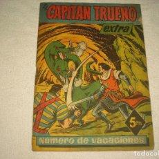 Tebeos: EL CAPITAN TRUENO EXTRA , NUMERO DE VACACIONES . 1959. Lote 100501575