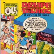 Tebeos: ROMPE TECHOS **** COLECCIÓN OLÈ NÚMERO 14 *** EDITORIAL BRUGUERA 1978. Lote 100616815