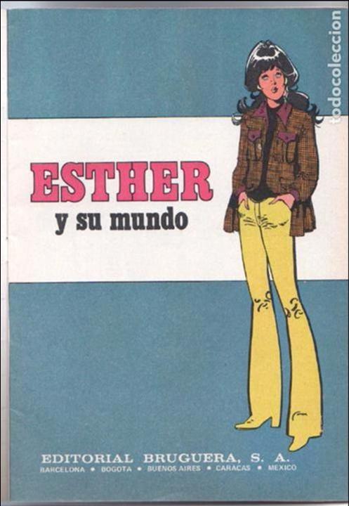 Tebeos: ESTHER Y SU MUNDO Nº 1 - IMPECABLE - Foto 2 - 100652739