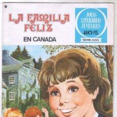 Tebeos: LA FAMILIA FELIZ Nº 1 - JOYAS LITERARIS AZULES Nº 4 - IMPECABLE. Lote 100652935