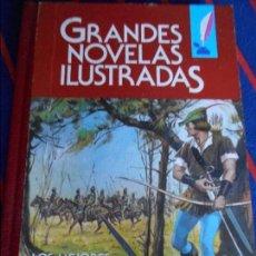 Tebeos: GRANDES NOVELAS ILUSTRADAS. Nº 12. LOS MEJORES TITULOS DE LA LITERATURA UNIVERSAL. EDITORIAL BRUGUER. Lote 100746199