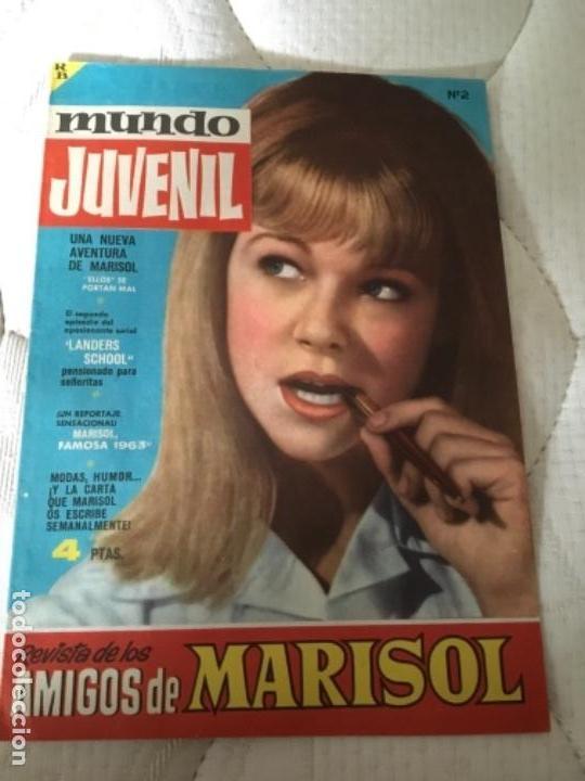 REVISTA/ CÓMIC MUNDO JUVENIL AMIGOS DE MARISOL NÚMERO 2 EDITORIAL BRUGUERA 1963 (Tebeos y Comics - Bruguera - Otros)