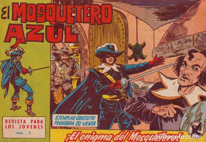 ORIGINAL-EL MOSQUETERO AZUL. NÚMERO 1. PERFECTO ESTADO (Tebeos y Comics - Bruguera - Cuadernillos Varios)