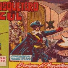Tebeos: ORIGINAL-EL MOSQUETERO AZUL. NÚMERO 1. PERFECTO ESTADO. Lote 101130327