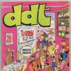 Tebeos: DDT ALMANAQUE 1975 (BRUGUERA 1974) CON MICHEL VAILLANT Y PITAGORAS SLIM.. Lote 101344051