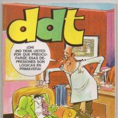 Tebeos: DDT EXTRA PRIMAVERA (BRUGUERA 1973) CON ELODIE D'AVRAY Y BRUNO BRAZIL.. Lote 101344959