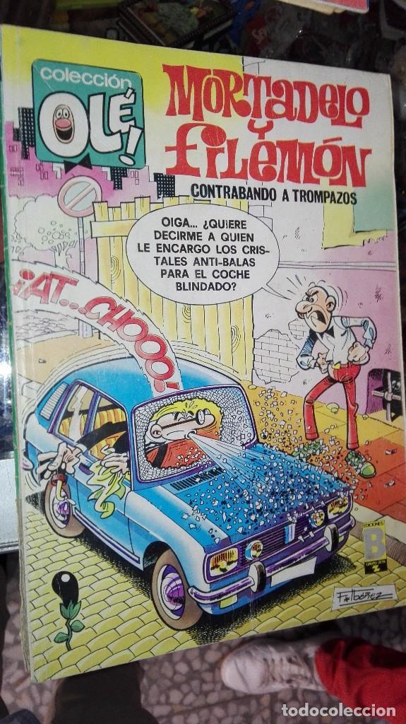 OLE MORTADELO Y FILEMON CON EL BOTONES SACARINO (Tebeos y Comics - Bruguera - Ole)