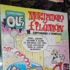 Tebeos: OLE MORTADELO Y FILEMON CON EL BOTONES SACARINO . Lote 101448519