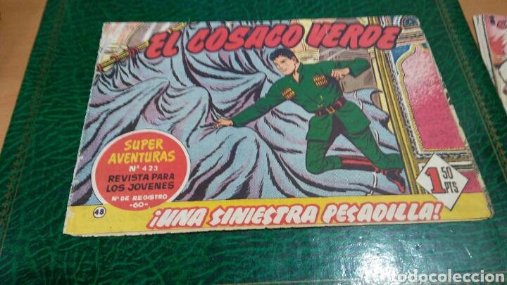 EL CORSACO VERDE NUMERO 423 UNA SINIESTRA PESADILLA (Tebeos y Comics - Bruguera - Cosaco Verde)