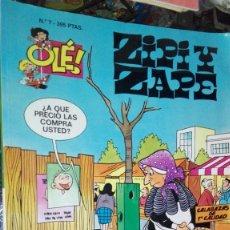 Tebeos: OLE ZIPI Y ZAPE N 7. Lote 101464811