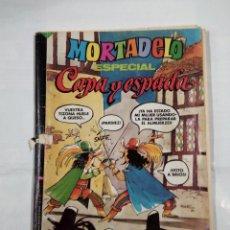 Tebeos: MORTADELO ESPECIAL Nº 96 CAPA Y ESPADA REVISTA JUVENIL. BRUGUERA 1980. TDKC30. Lote 101477599