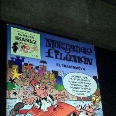 Tebeos: EL TRASTOMOVIL. EL MEJOR IBAÑEZ Nº 1. MORTADELO Y FILEMON. COMICS. 1999. VER FOTOS.. Lote 101517035
