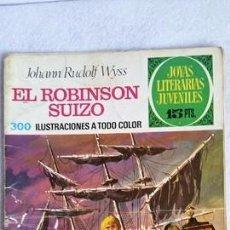 Tebeos: EL ROBINSON SUIZO. JOYAS LITERARIAS JUVENILES. SERIE VERDE. Nº 23. CCAVENDE. Lote 101519655