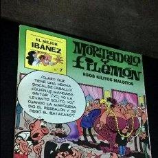 Tebeos: EL MEJOR IBAÑEZ Nº 7. MORTADELO Y FILEMON. ESOS KILITOS MALDITOS. 1999. COMICS. VER FOTOS.. Lote 101519719