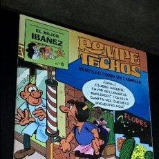 Tebeos: EL MEJOR IBAÑEZ Nº 6. ROMPE TECHOS. MIOPILLO COMO UN LADRILLO. 1999. COMICS. VER FOTOS.. Lote 101520195