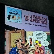 Tebeos: EL MEJOR IBAÑEZ Nº 8. LA FAMILIA TRAPISONDA. UN GRUPITO QUE ES LA MONDA. 1999. COMICS. VER FOTOS.. Lote 101521399