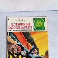 Tebeos: EL TESORO DEL LAGO DE LA PLATA. KARL MAY. JOYAS LITERARIAS JUVENILES. SERIE VERDE. Nº 55. CCAVENDE. Lote 101522035