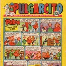 Tebeos: PULGARCITO. REVISTA PARA LOS JOVENES. AÑO XXXIX. NÚMERO 1493. CAPITÁN TRUENO EN PÁGINAS CENTRALES. Lote 101592771
