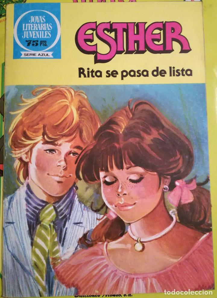 ESTHER Nº 96 NUEVO SERIE AZUL PURITA CAMPOS RITA SE PASA DE LISTA (Tebeos y Comics - Bruguera - Esther)
