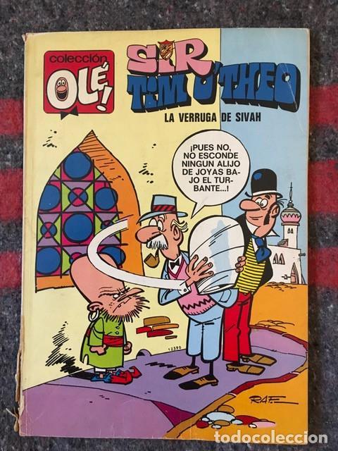 COLECCIÓN OLÉ 73 - SIR TIM O'THEO - INCOMPLETO (Tebeos y Comics - Bruguera - Ole)