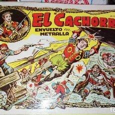 Tebeos: EL CACHORRO. IBERCOMIC. ENVUELTO EN METRALLA. TOMO 6.. Lote 101674795