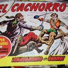 Tebeos: EL CACHORRO.CARGAMENTO DE EBANO. Lote 101675007