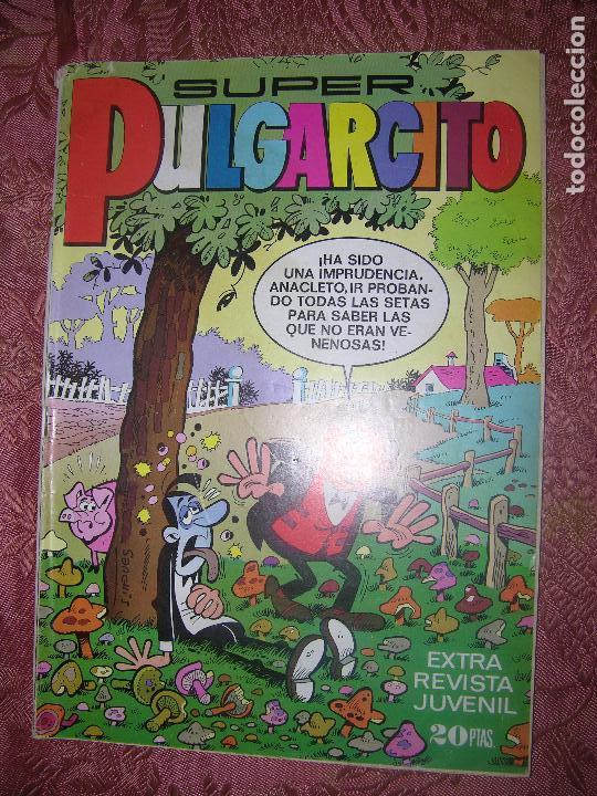 (F.1) REVISTA JUVENIL SUPER PULGARCITO AÑO 1974 (Tebeos y Comics - Bruguera - Pulgarcito)