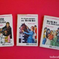 Tebeos: COLECCIÓN HISTORIAS SELECCIÓN - SERIE SISSI Nº 6, 14 Y 15 - MARCEL D'ISARD - BRUGUERA. Lote 102053655
