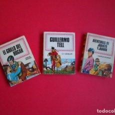 Tebeos: 3 LIBRO-CÓMIC HISTORIAS INFANTIL Nº 26, 33 Y 45 - BRUGUERA 1ª 2ª ED. 1969 - 1974. Lote 102056815
