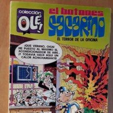 Tebeos: BRUGUERA COLECCIÓN OLE - 2º EDICIÓN - EL BOTONES SACARINO - NUMERO 132 . Lote 102062011