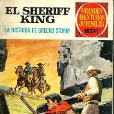 Tebeos: GRANDES AVENTURAS JUVENILES Nº 20 - SHERIFF KING - LA HISTORIA DE GRECKO STORM, BRUGUERA 1972 1ª ED.. Lote 102072627